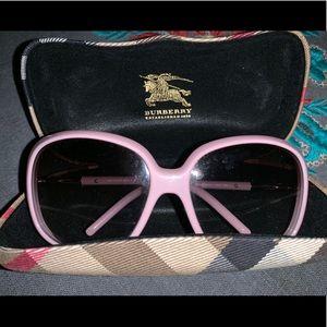 Burberry Pink Sunglasses